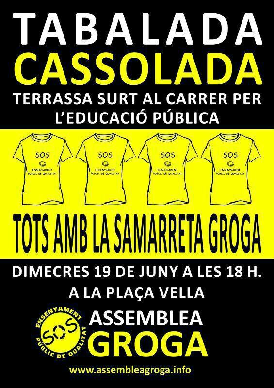 Tabalada i Cassolada