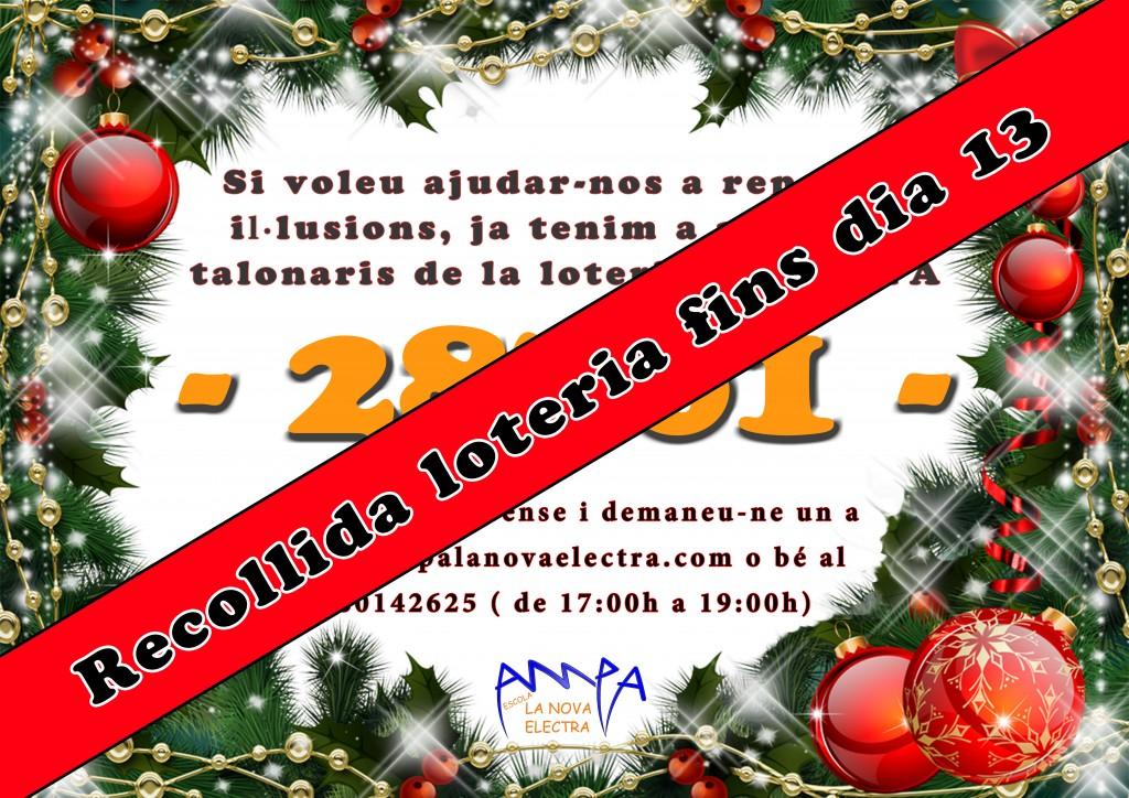 Recollida loteria 2013