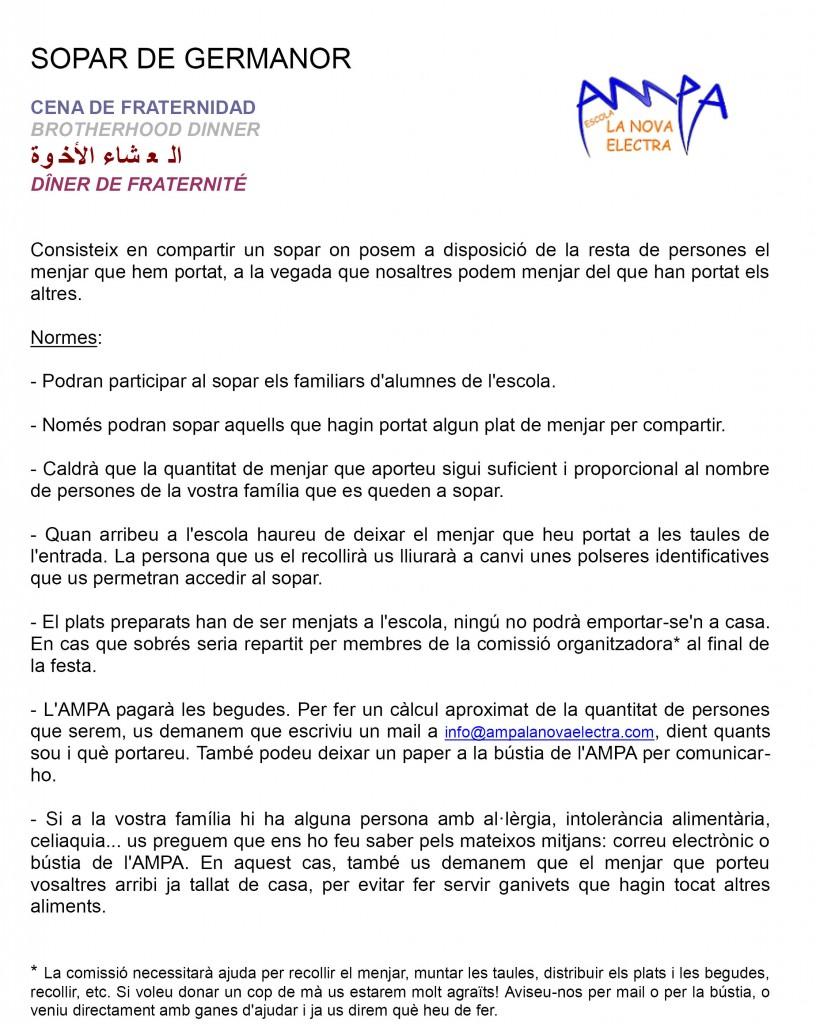 FESTA DE FINAL DE CURS DE L'AMPA